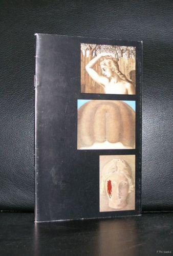 ISY BRACHOT # Delvaux, Gnoli, Magritte # 1974, nm