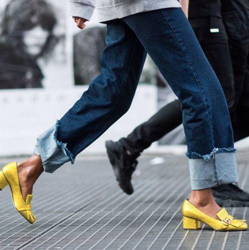 veronica loves archie - frayed hem jeans