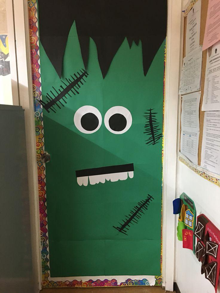 My Halloween door decoration.