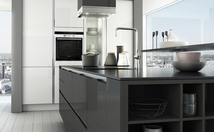 54 best Cuisine images on Pinterest Kitchen ideas, Condo kitchen - Wandfarbe Zu Magnolia Fronten