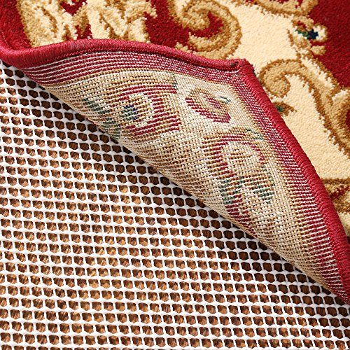 RHF Non-Slip Area Rug Pad 8x10 Ft - Protect Floors While Securing Rug and Making Vacuuming Easier 8x10