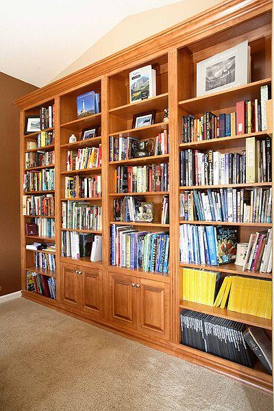 Custom Bookshelves Built By Adams Fine Furniture In Denver