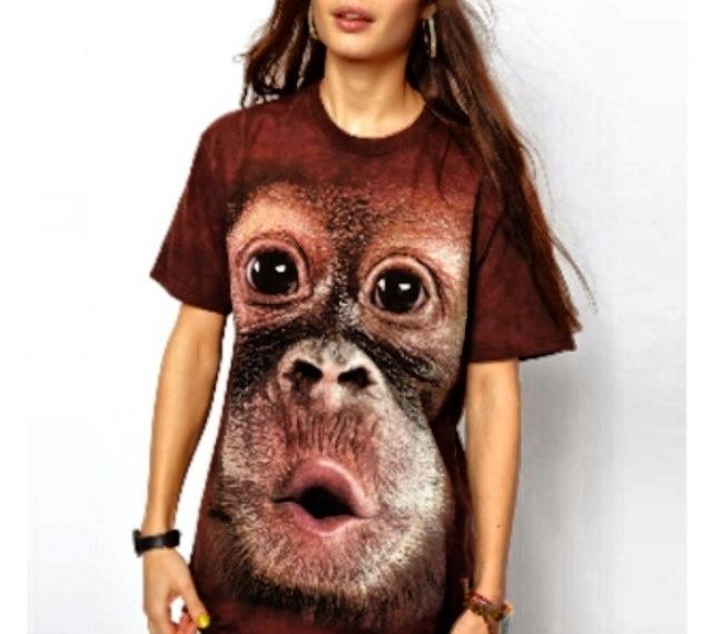 Asos chimp tee, WANT