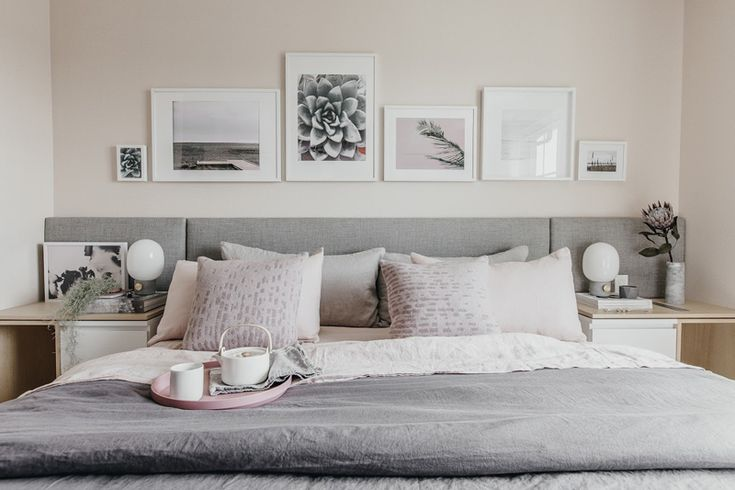 White and pastels