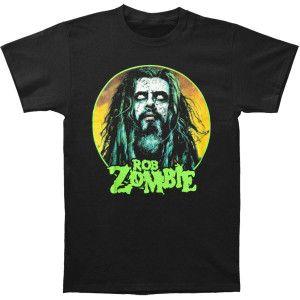Rob Zombie Face D1 T-shirt