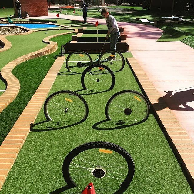 Weston Park in Yarralumla is home to the Yarralumla Play Station which features a mini steam railway, cafe and 36-hole mini golf course featuring iconic Canberra buildings. Something to add to the list for your next family trip to Canberra? Photo by Instagrammer @c4mb4rnes. #visitcanberra