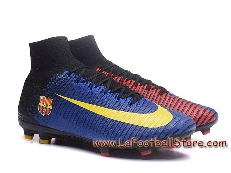 nike mercurial superfly v fg(barcelona) team chaussure officiel nike de football à crampons
