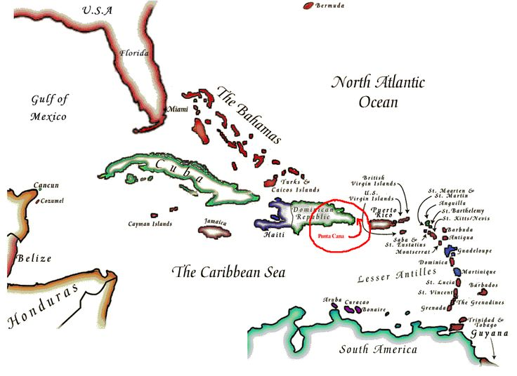 punta cana map » Full HD MAPS Locations - Another World | ..:: Pices ...