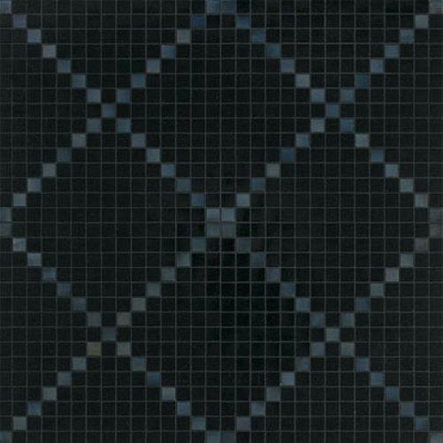 #Bisazza #Decori 2x2 cm Rete Nera | #Gres | su #casaebagno.it a 449 Euro/collo | #mosaico #bagno #cucina