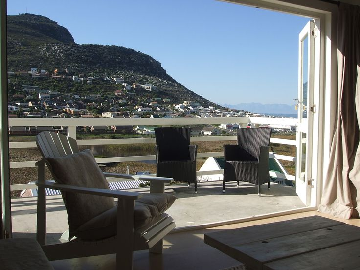 Self catering accommodation, Glencairn, Cape Town   Balcony views of the surrounding mountains and ocean   http://www.capepointroute.co.za/moreinfoAccommodation.php?aID=391