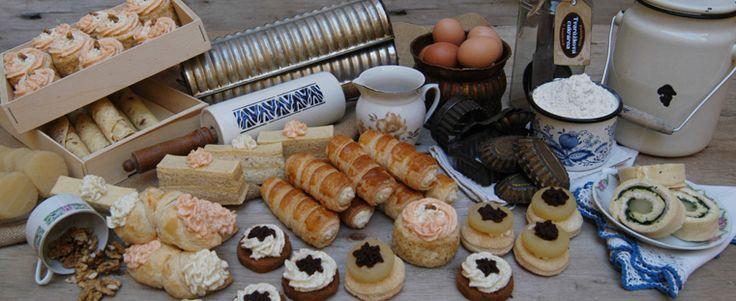 Ochutnat u nás můžete tvarůžkové kremrole, šátečky, vdolečky, dortíky ...