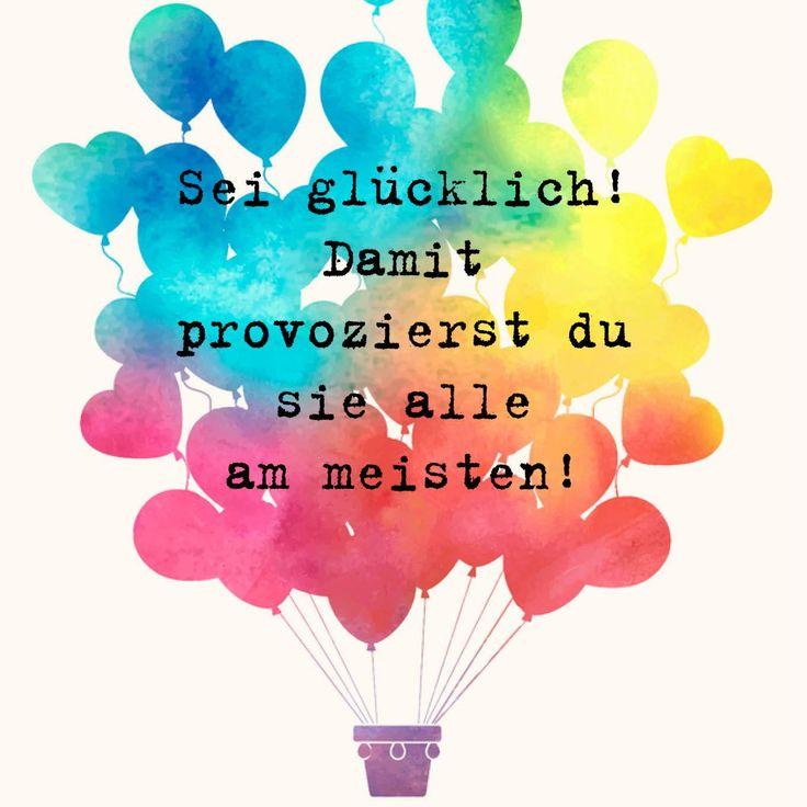 Mehr Glücks-Tipps ☞ http://universityofhappiness.de/?utm_content=bufferafe06&utm_medium=social&utm_source=pinterest.com&utm_campaign=buffer #tagesmotto