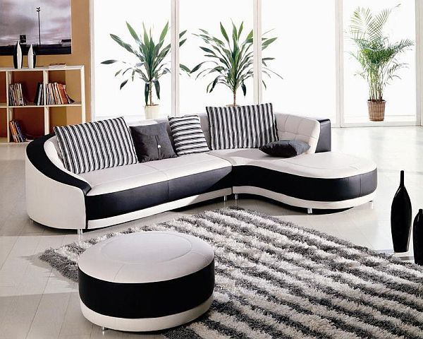 modern-black-white-corner-sofa
