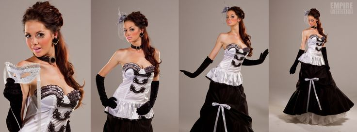My Fair Lady Inspired dress - Shoot for Hollywood Costumes.