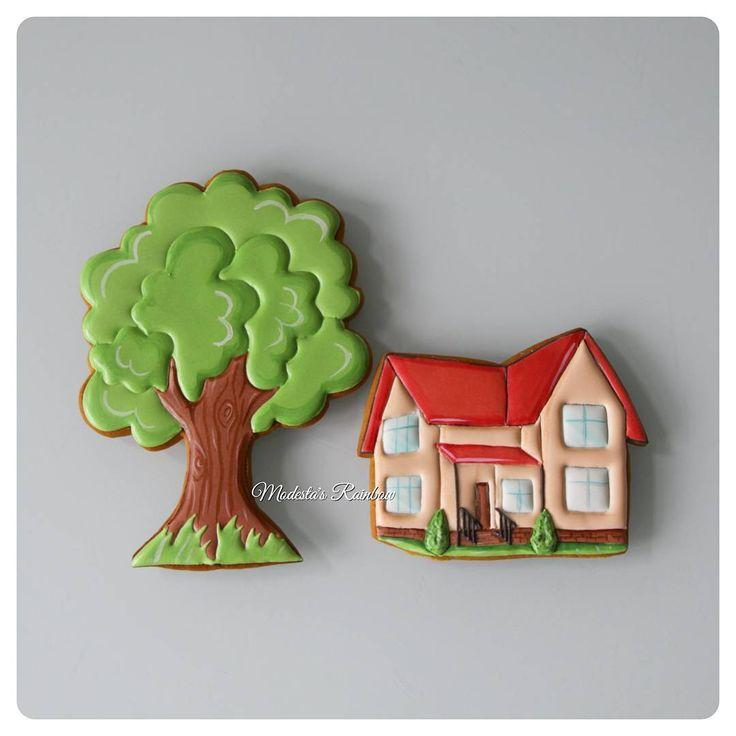 Что должен сделать в жизни мужчина?  Посадить дерево,  построить дом...  #royalicingcookies #gingerbread #decoratedcookies #cookiedecoration #sugarart #пряник #пряники #имбирноепеченье #имбирныепряники #пряникалматы #пряникиалматы #пряникимужчине #мужчинеМР