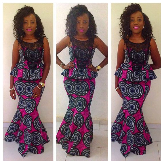 Adaora special occasion skirt and top, guipure lace, low back, african print dress, ankara dress, african wedding dress, african clothing