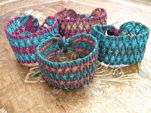 macrame bracelets | Flickr - Photo Sharing!