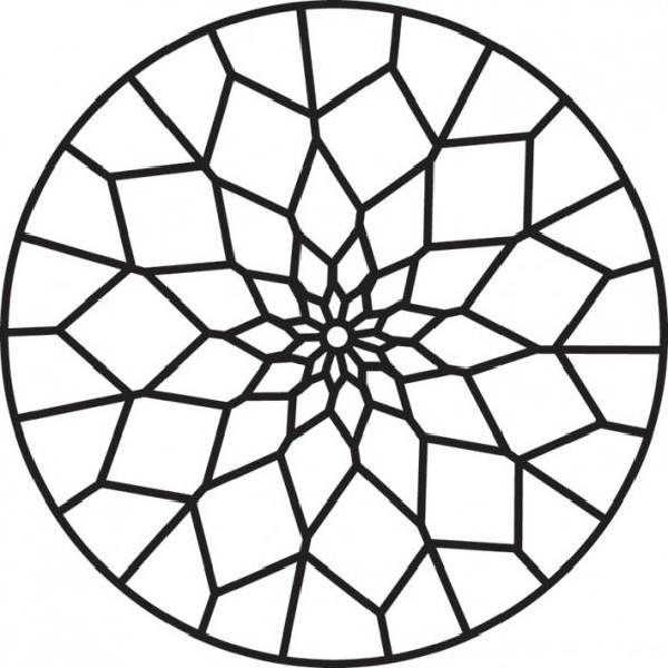 Coloring Pages Stained Glass Patterns | Coloring Pages Trend