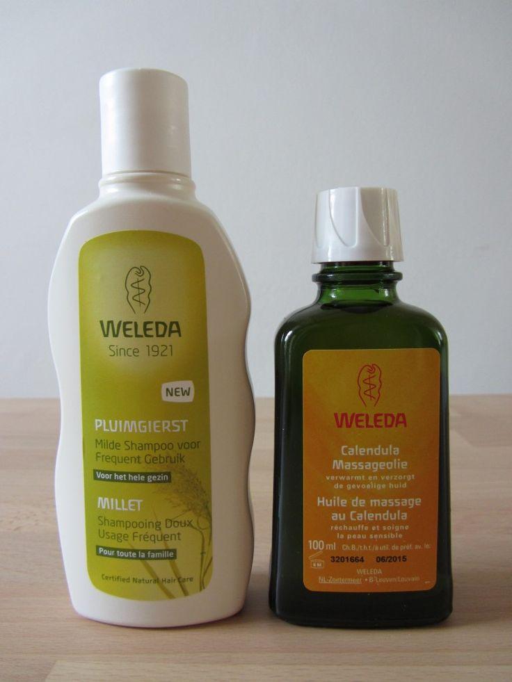 Weleda shampoo en Massage olie