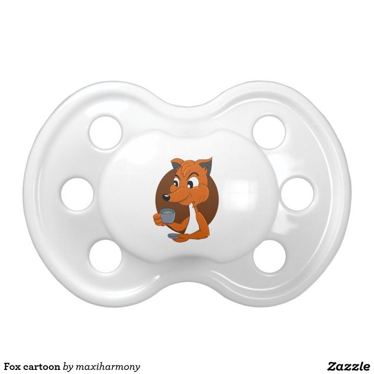 Fox cartoon BooginHead pacifier