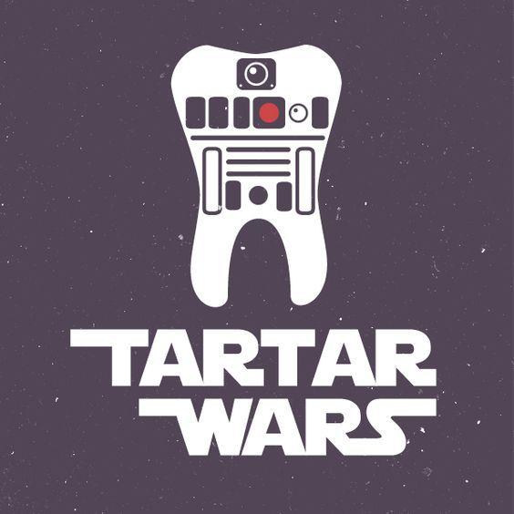 Star Wars Tartar Wars Dental Humor