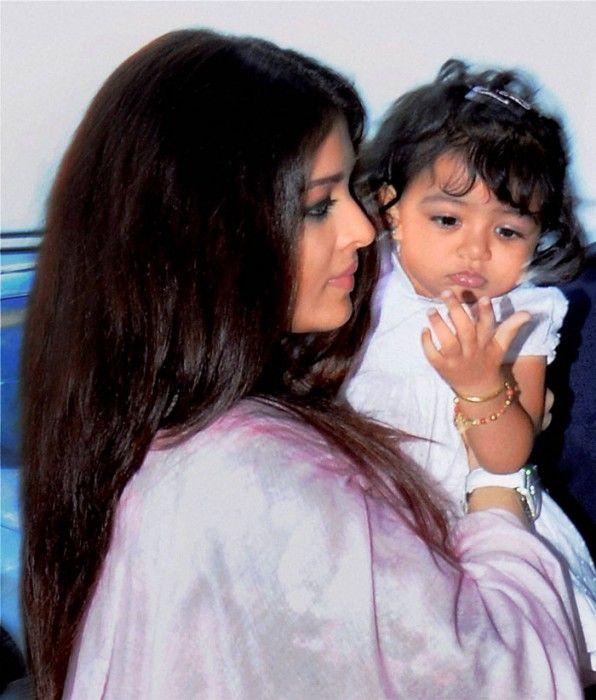 Aishwarya Rai Bachchan and daughter Aaradhya