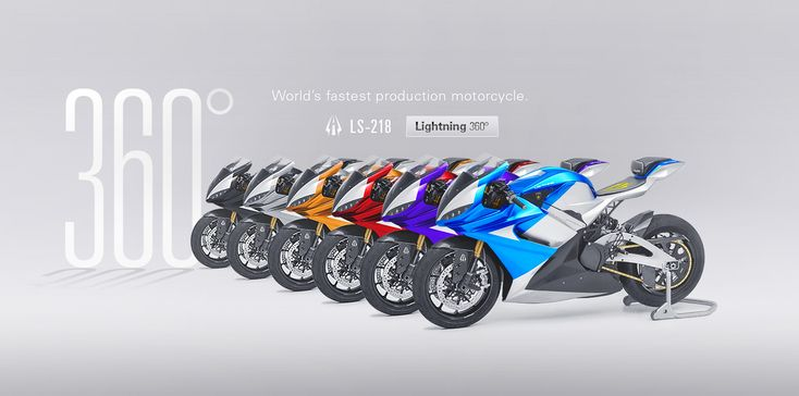 200hp high performance electric motorcycle.