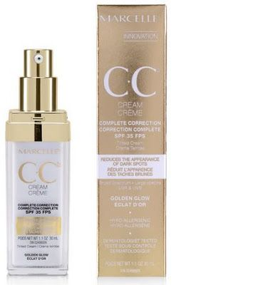 Marcelle CC Cream SPF 35 Complete Correction Golden Glow   Beauty Crazed in Canada