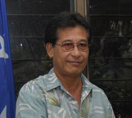"O presidente dos Estados Federados da Micronésia Immanuel ""Manny"" Mori. ◆Estados Federados da Micronésia – Wikipédia http://pt.wikipedia.org/wiki/Estados_Federados_da_Micron%C3%A9sia #Micronesia"