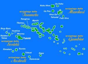 Gli arcipelaghi della Polinesia
