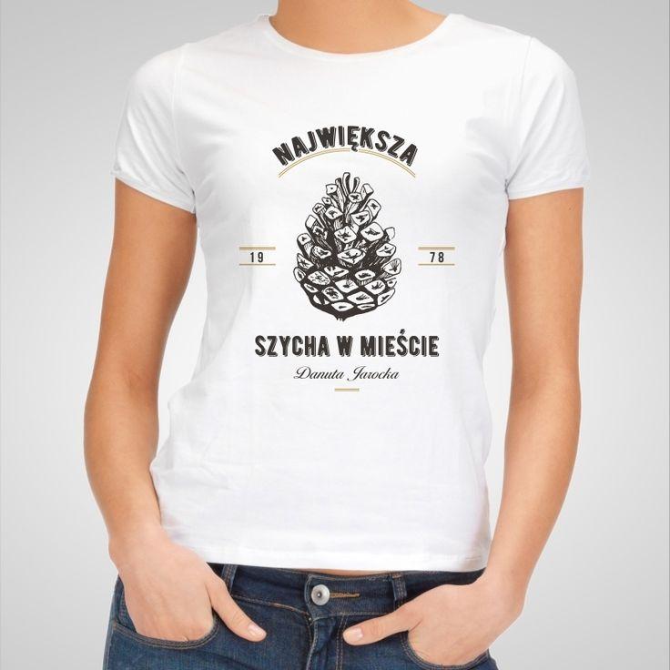 Koszulka personalizowana damska SZYSZKA