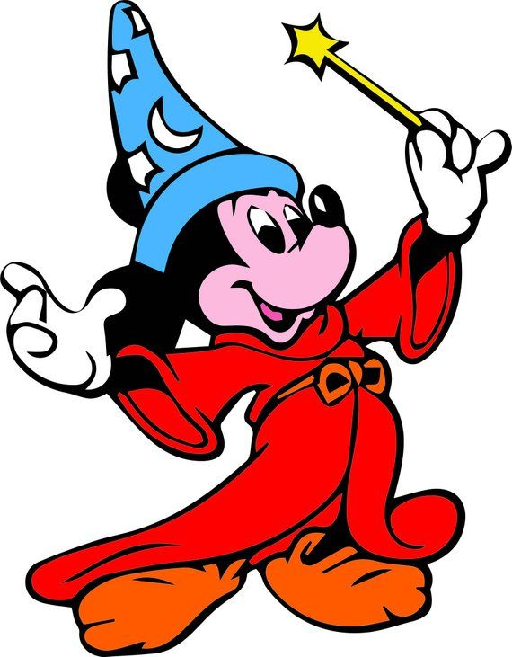 Sorcerer Mickey Svg File Sorcerer Svg Svg File