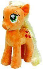 My Little Pony Ty Beanie Buddy 16 Inch Soft Plush Toy - Apple Jack