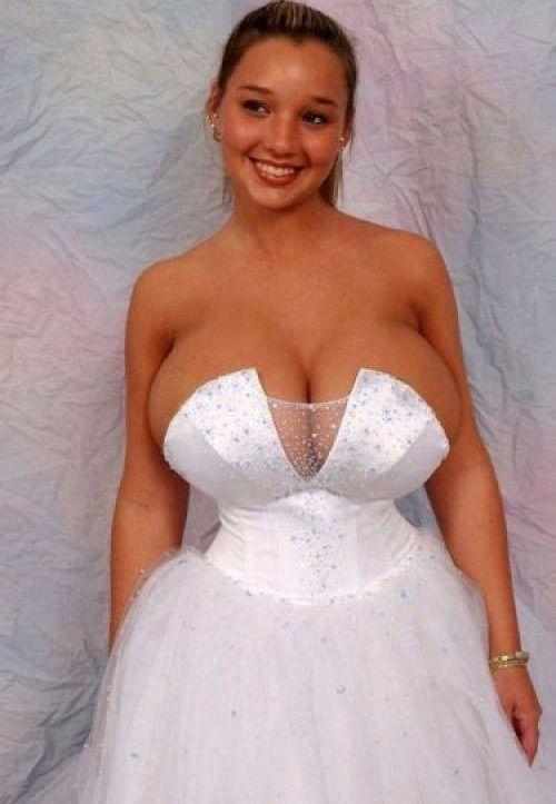 Busty bride pics