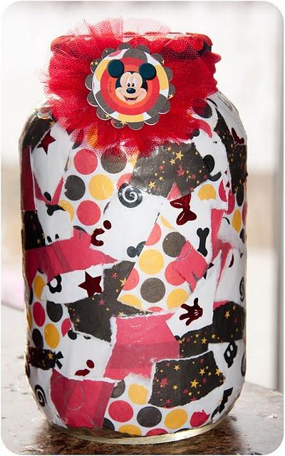 Disneyland vacation jar.  I want to go to Disneyland (really I want to go to Disneyworld in about 3 years....)