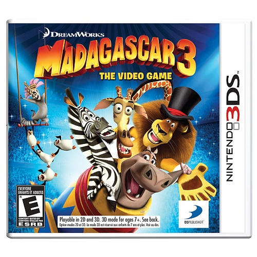 """Madagascar 3: The Video Game for Nintendo 3DS - Toys """"R"""" Us"""