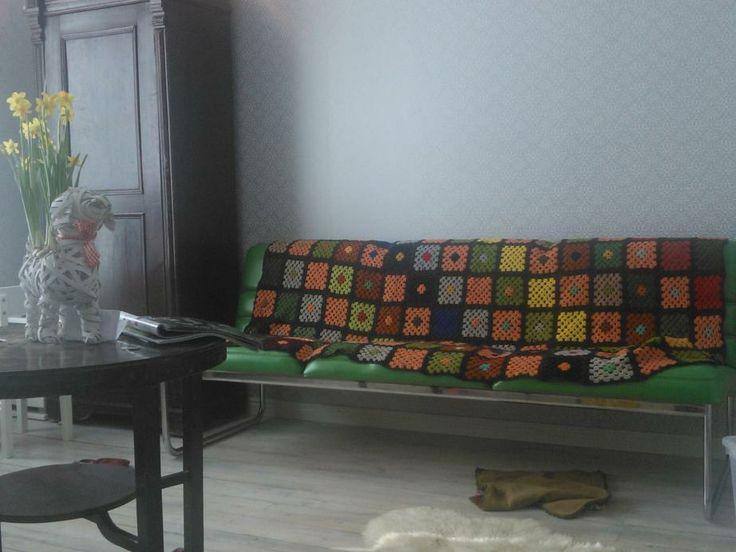 Siskoni olohuone - väriä ja harmoniaa!  Mys sister's livingroom - colours and harmony!