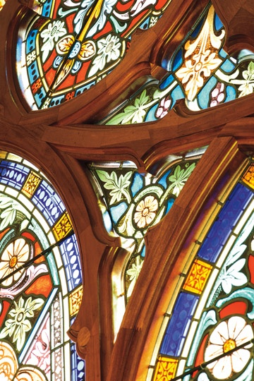 Marvin Windows and Doors Photo Gallery -Church window in Potsdam, NY