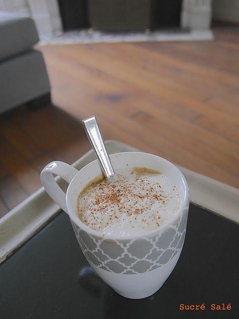 L'une des recette les plus consommés aux États Unis pendant l'automne est le pumpkin spice latte de Starbucks.   Vous n'avez pas forcé...