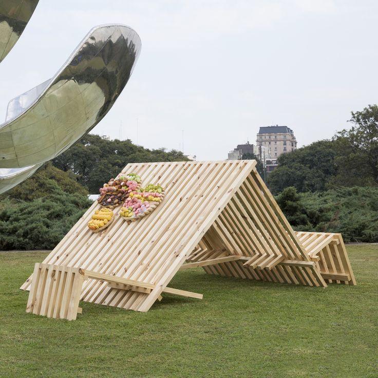 REPOSERO Jésicca Paoletta + Mauricio Asta + Sarana Juarez Estrada + Ramón Beláustegui + Min Agostini + Lucio Vera   #diseño #madera #festival #wood #design #art #arte #fashion #moda