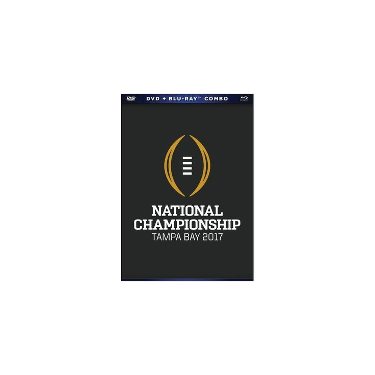 2016-17 Cfp National Championship (Dvd)