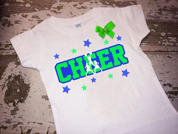 Stunt Cheer Shirt with Bow