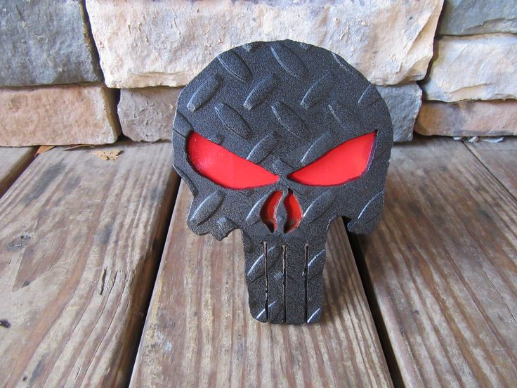 Punisher Truck Hitch Cover For Sale On ebay.