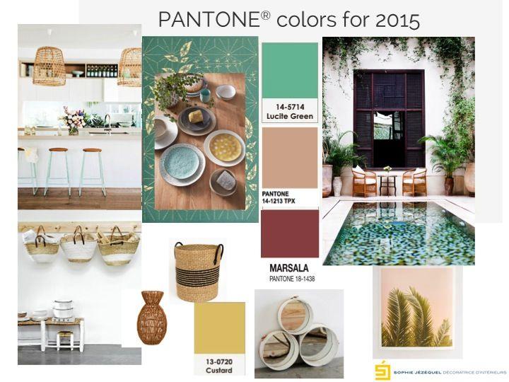 Pantone colors for 2015