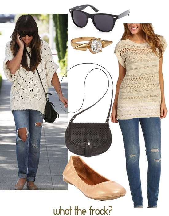 Celebrity Look for Less: Lea Michele Style | What the Frock? - Affordable Fashion Tips and Trends