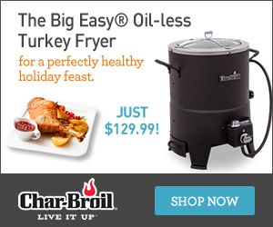 The Big Easy Oil-less Turkey Fryer at Char-Broil