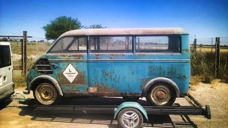 1958 dkw auto union barn find patina schnellaster kombi. Black Bedroom Furniture Sets. Home Design Ideas