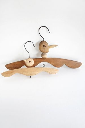 .. woody hangers ...