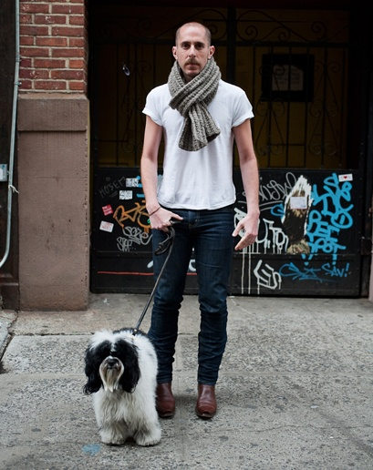 For the upcoming trip: basic tee with slim pants on a warmer day. Add scarf when it gets chilly