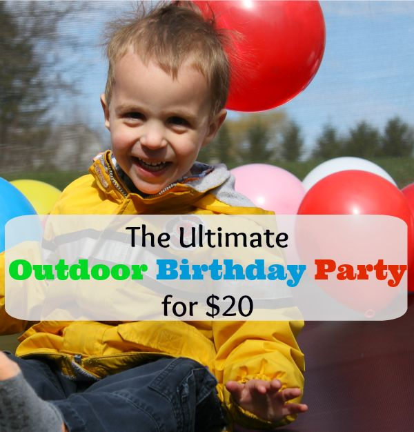 A step-by-step outdoor birthday party planned just for you and your little ones! Full of outdoor birthday party ideas, activities, and games perfect for the spring and summer.